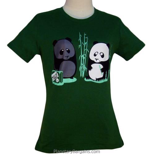 Ladies Tanned Panda Shirt