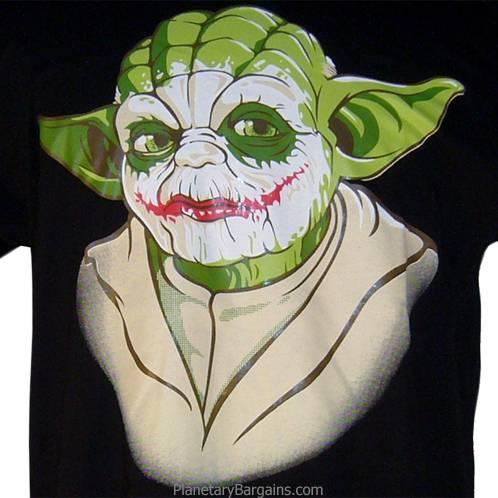 The Joker Yoda Shirt