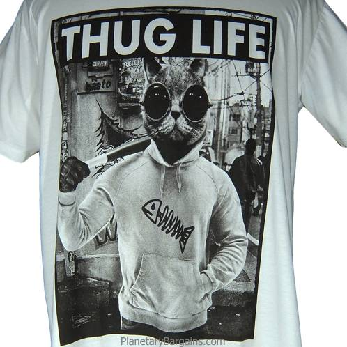 Thug Life Cat Shirt