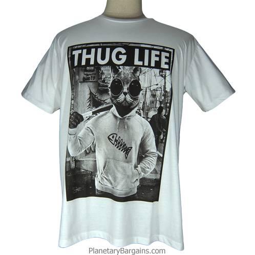 Thug Life Cat Shirt