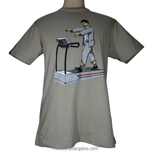 Treadmill Zombie Shirt