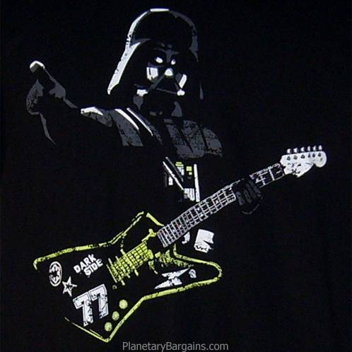 Darth Vader With Guitar Shirt