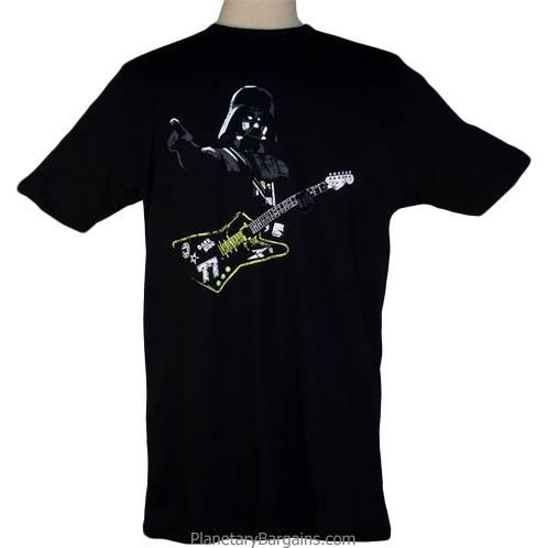 Darth Vader Rock Guitar Shirt