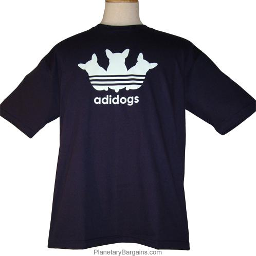 Adidogs Logo Parody Shirt