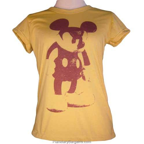 Tight Fit Ladies Angry Mouse Shirt