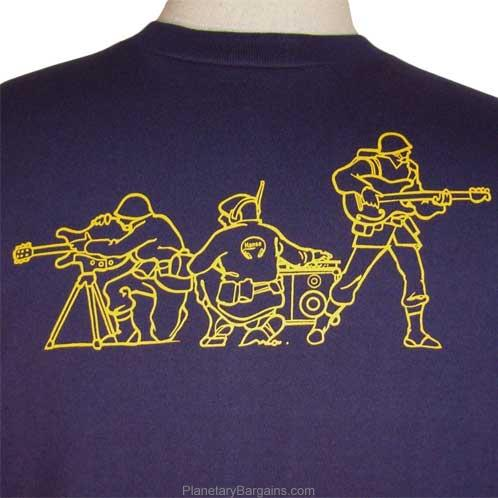 Army Band Shirt Toy Soldiers With Guitars