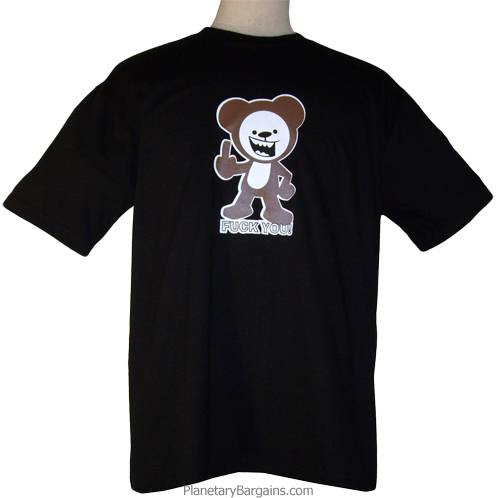 Fuck You Teddy Bear Shirt