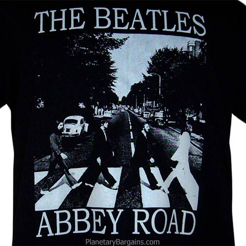 kiss beatles shirt