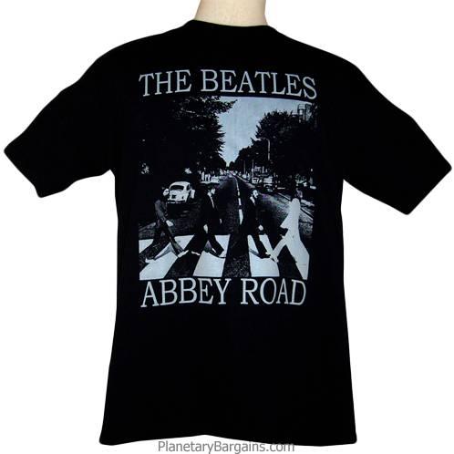 Beatles Abbey Road T Shirt Black The Beatles Abbey Rd T