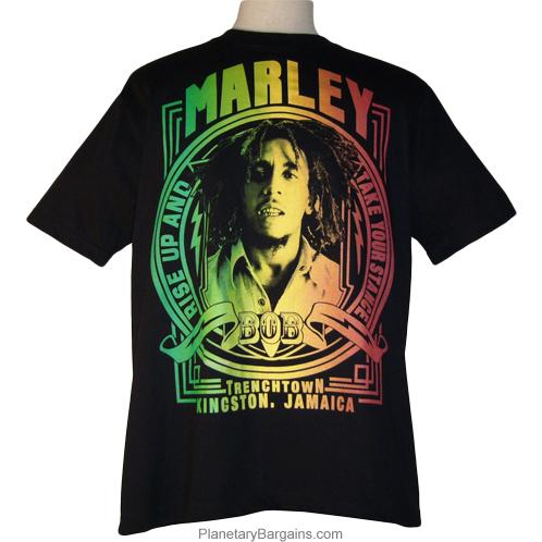Bob Marley Rise Up And Take Your Stance Shirt