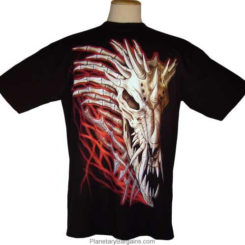Bone Dragon Head Shirt