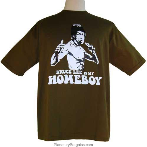 Bruce Lee Is My Homeboy T-Shirt
