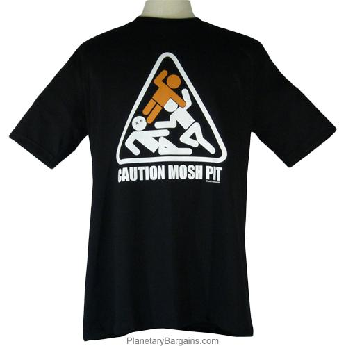 Caution Mosh Pit Shirt