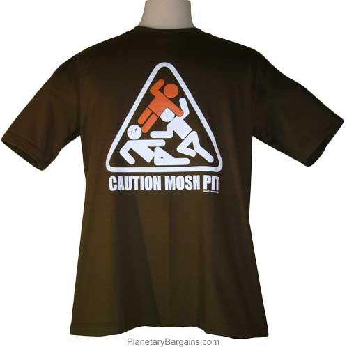 Caution Mosh Pit Slam Dance Shirt