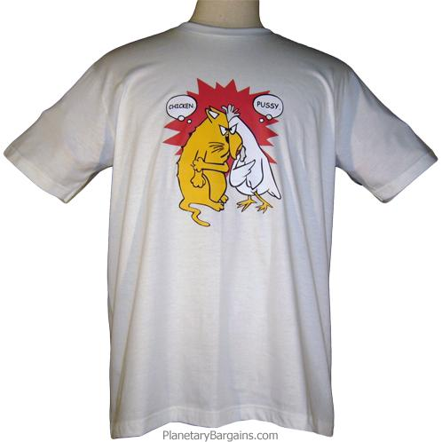 Pussy and Chicken Shirt