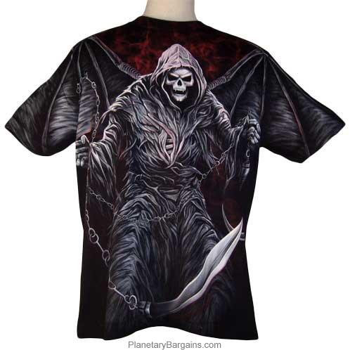 Winged Demon Reaper Shirt