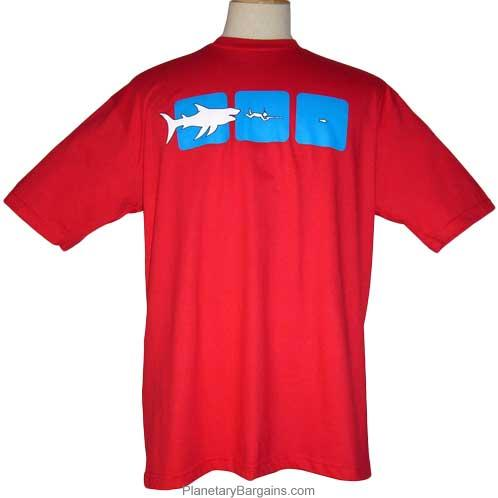 Scuba Diver's Food Chain T-Shirt
