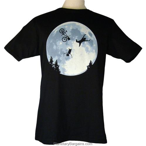 Funny E.T. Elliot Moon Shirt