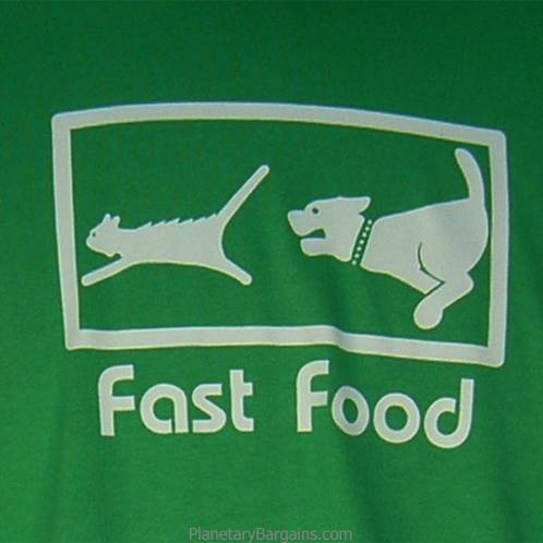 Fast Food Dog and Cat