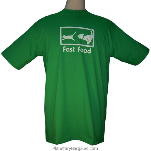 Funny Fast Food Dog and Cat Shirt