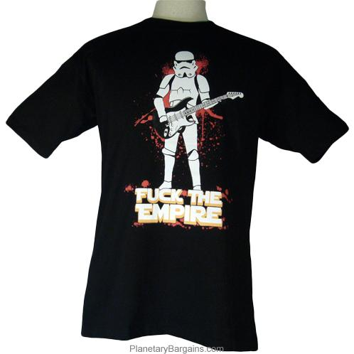 Funny Fuck The Empire Star Wars Clone Shirt