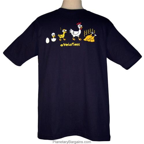Funny Chicken Ovolution Shirt