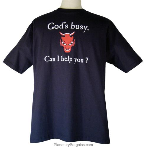 God's Busy Can I Help You