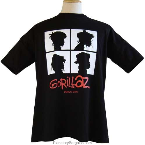 Gorillaz Demon Days Shirt