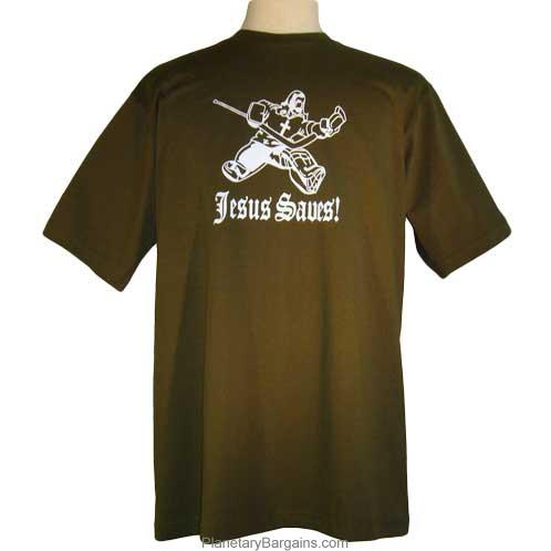 Funny Jesus Saves Goalie Shirt