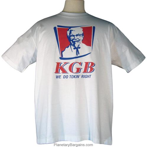 KGB We Do Tokin Right Shirt