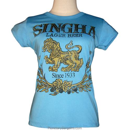 Singha Beer Logo Shirt