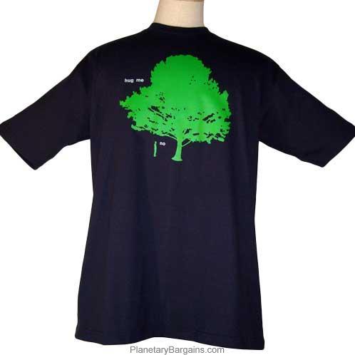 Man Won't Hug Tree Shirt