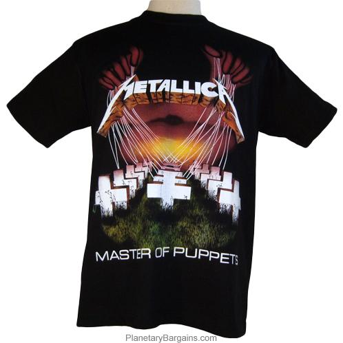 Image result for master of puppets shirt
