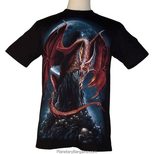 Red Dragon Moon Shirt