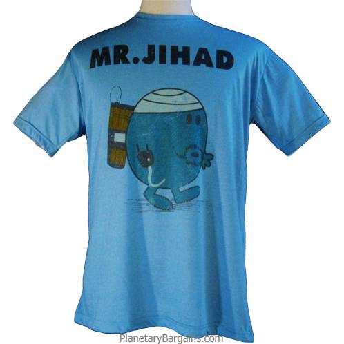 Crazy Mr Jihad Shirt