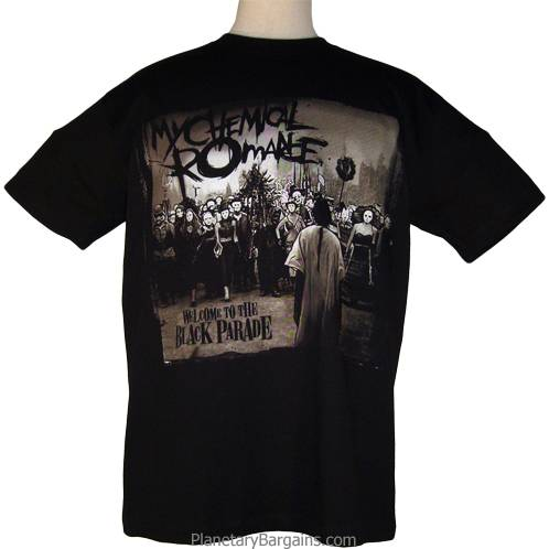 My Chemical Romance The Black Parade T Shirt My Chemical Romance T