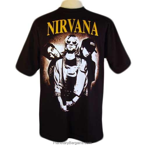 nirvana band shirt black vintage nirvana shirt buy. Black Bedroom Furniture Sets. Home Design Ideas