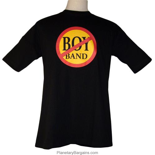 No Boy Bands Shirt