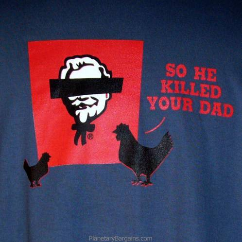 So He Killed Your Dad Shirt