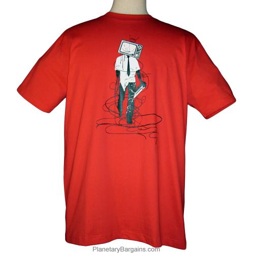 Tv Headed Man Shirt