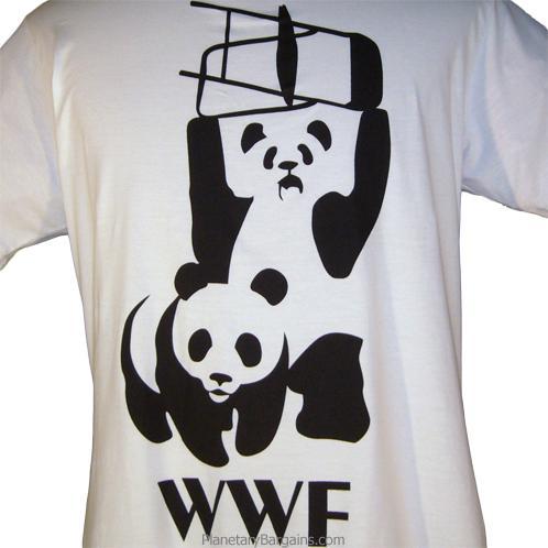 WWF Panda Parody Shirt