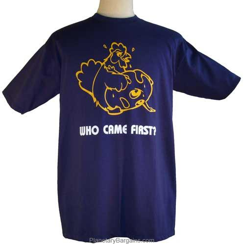 Who Came First T-Shirt